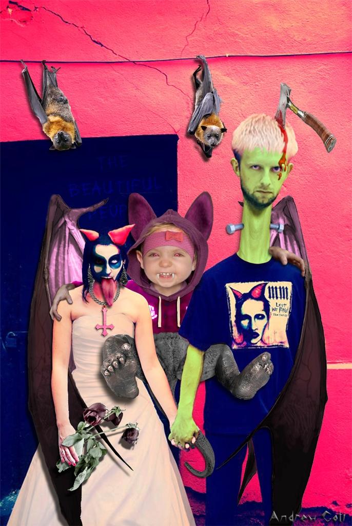 Halloween Family copy