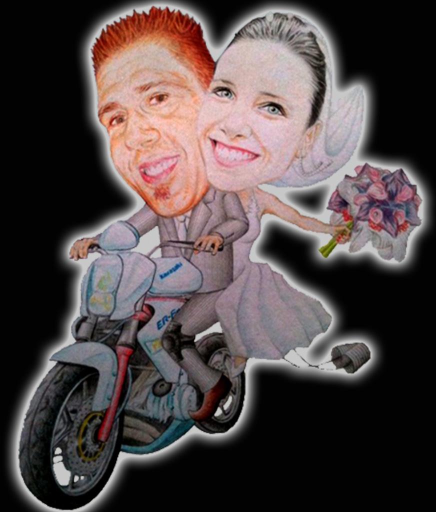 Wedding Motorbike